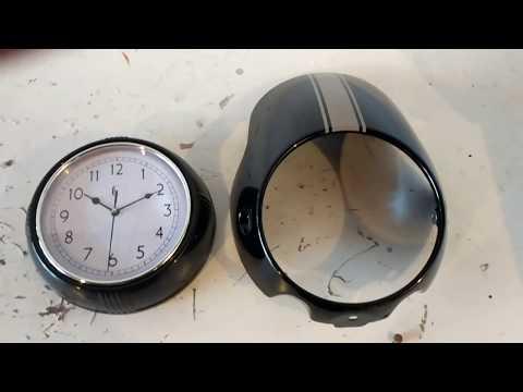 Triumph Thruxton Fairing Wall Clock