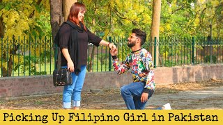 PICKING UP FOREIGNER (FILIPINO) GIRL IN PAKISTAN