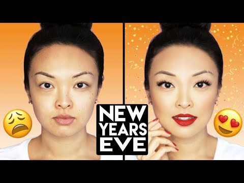 Jaw-Dropping New Years Eve Makeup in 5 MINUTES!
