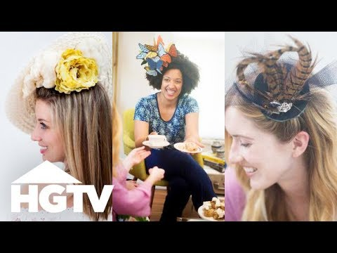3 Royal Wedding-Inspired DIY Fascinators - HGTV