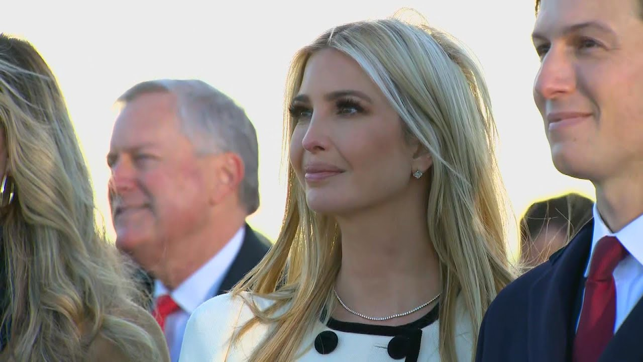 Ivanka Trump Fights Back Tears Watching Her Dad Leave