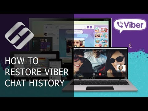 How to Restore Chat History, Contacts and Files for Viber in Android or Windows 💬📁⚕️