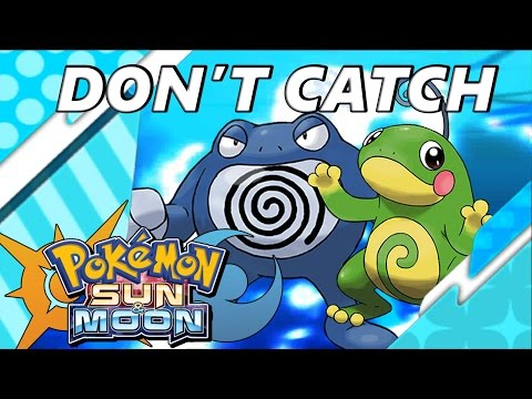 Pokémon Sun and Moon: Don't Catch Politoed and Poliwrath Evolve Them!