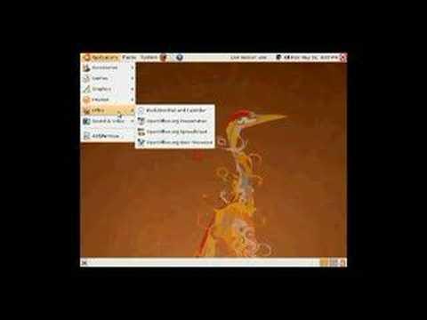 Exploring the Ubuntu Live CD
