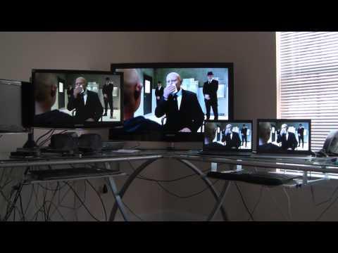 Video Streaming to 4 Ubuntu PCs using VLC