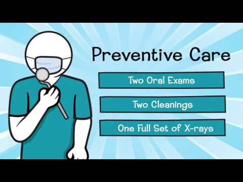 Dental Benefits for members of IEHP DualChoice Cal MediConnect Plan
