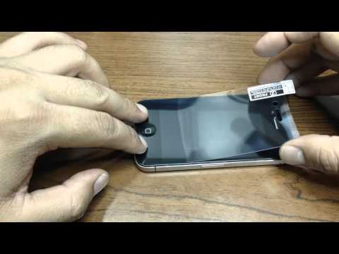 How to install Screen Protector on iPhone 4, 4S or 5