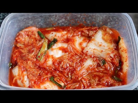 How to Make Kimchi (Homemade)