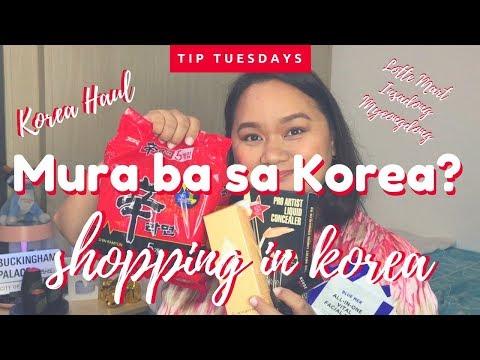 Shopping in Korea! Korea Haul - Tip Tuesday!