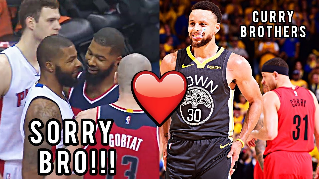 """NBA """"Brother vs Brother"""" Plays"""