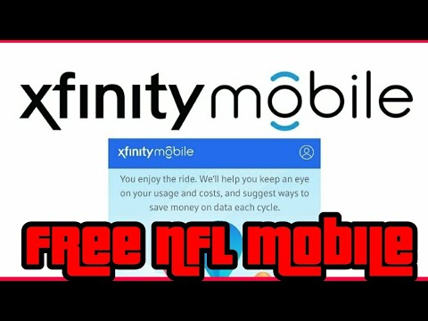 Free NFL Network for Xfinity Mobile Customers How to guide Verizon Wireless