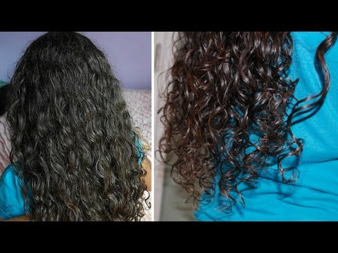 Curly Hair Routine (soft, loose curls) + Bloopers!