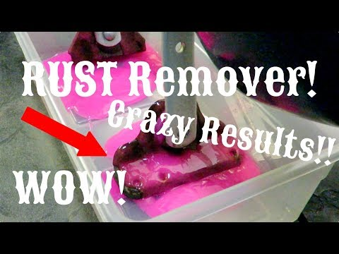 How To Remove RUST Off Rusty Car Parts (AMAZING RESULTS) | Loctite Rust Dissolver/Rust Remover