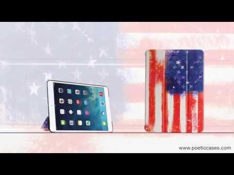 Poetic Flag covermate for iPad mini with Retina and iPad Air