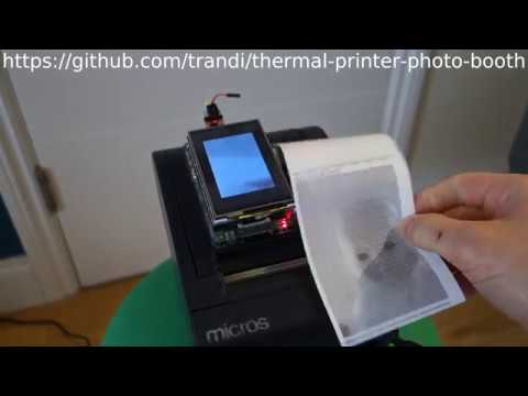 Receipts Printer Photo Booth