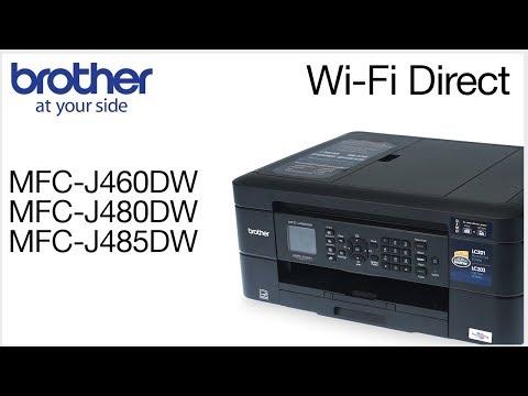 Connect to a mobile device – MFCJ460DW, MFCJ480DW, MFCJ485DW