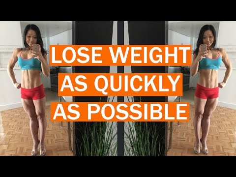 How to lose weight as quickly as possible - FAQ 1