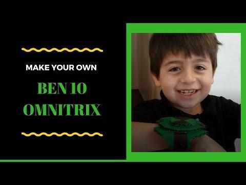 How to make a Ben 10 Omnitrix DIY