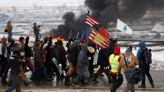 We Have to Keep Fighting: Water Protectors Vow Continued Resistance to DAPL as Main Camp Is Evicted