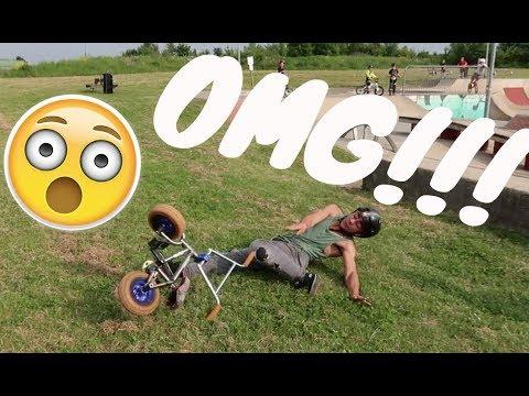 Reggie almost breaks his leg!!!