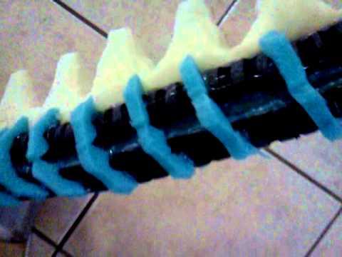 Homemade Alien costume (tail)