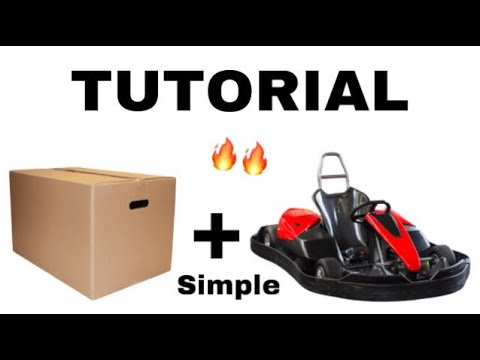 Day 1: Building A Cardboard Go-Kart