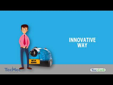 Service App for crimping machines - Infographic Animation