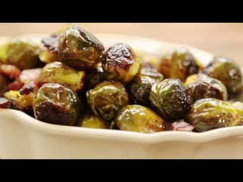 How to Make Maple Roasted Brussels Sprouts with Bacon | Thanksgiving Recipes | Allrecipes.com