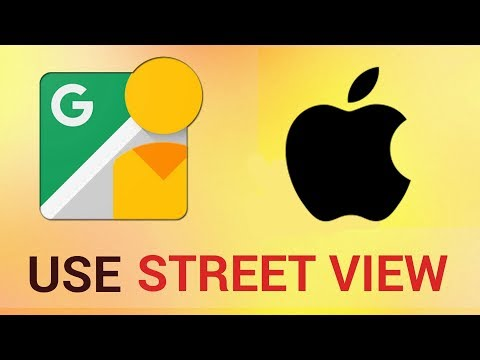 How to Access Streetview in Google Maps on iPhone and iPad