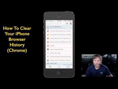 How To Delete Search History On iPhone Web Browser (Chrome)