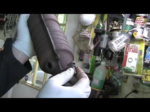 Honda Catalytic Converter Repair, Civic, Accord, CRV, bolt, stud, how to, fix