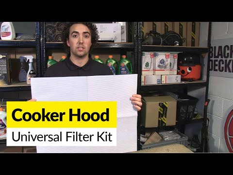 Universal Cooker Hood Filter Kit