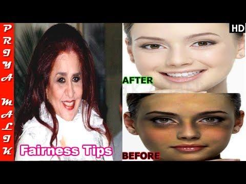Top 4 Shahnaz Husain's Secret Beauty Tips - Best Remedy for Fair Skin - Priya Malik