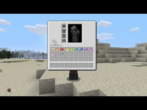 Minecraft PS4 how to dye leather armor