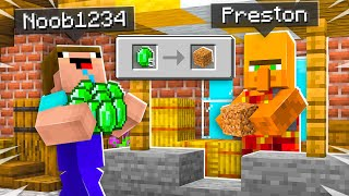 7 Ways to Steal Noob1234's Emeralds! - Minecraft