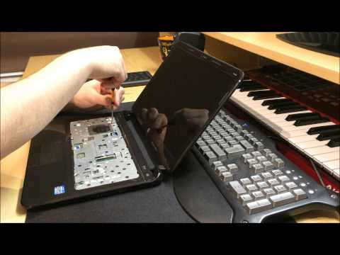 HP Sleekbook 14 Disassembly Hard Drive replacement or SSD upgrade