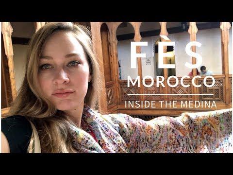 FES MOROCCO - INSIDE THE MEDINA - VLOG
