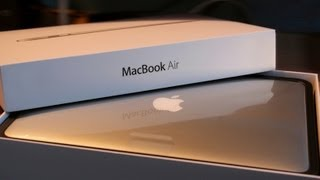 "NEW Apple Macbook Air 13"" Unboxing, Hands On, and First Look (128GB Flash Storage & 1.3GHz Intel i5)"