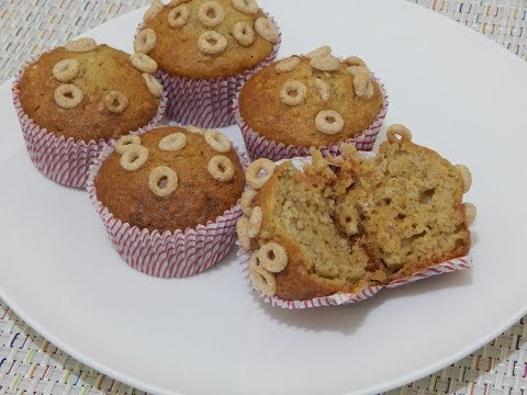 EASY HEALTHY BREAKFAST IDEAS! Apple Muffins Recipe l Applesauce Cereal Muffin for Toddler & Kids