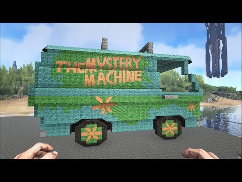 ARK Survival: The Mystery Machine (Retro Version) (Base & Functioning Lights)