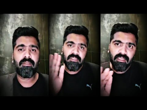 Simbu selfie video | supports Mansoor Alikhan actor