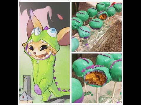BAKING | Dino Gnar Inspired Cake Pops
