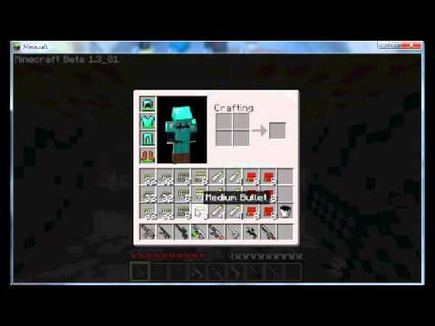 Minecraft Guns, nukes, and grenades