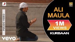 Ali Maula - Official Audio Song   Kurbaan  Salim Sulaiman