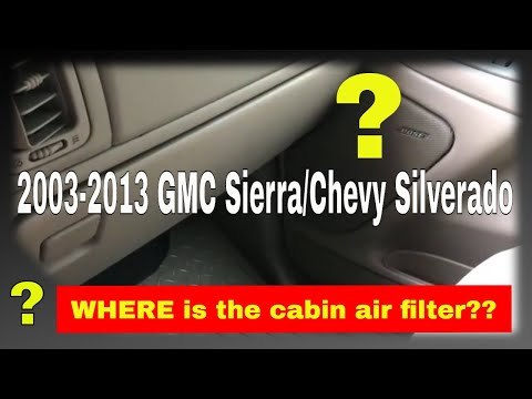 How to replace the cabin air filter in a 2003 GMC Sierra - Force TV 051