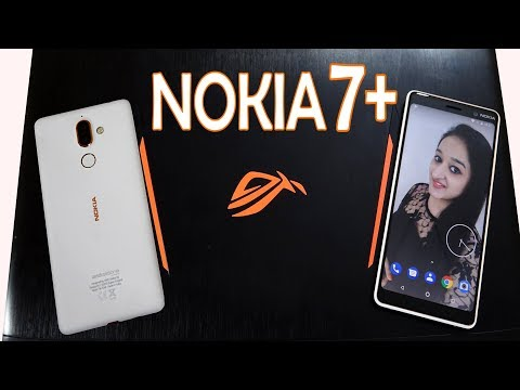 NOKIA 7+ (LIMITED WHITE EDITION)  Unboxing & Overview- In Hindi - WHITE MAGIC