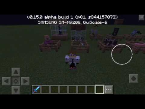 Experiment Story (Spawn Egg In Minecraft v0.15.0 Alpha Build 1)