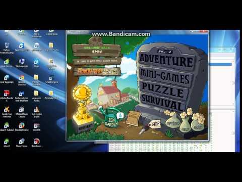 Plants Vs. Zombies-Hidden Mini Games unlock