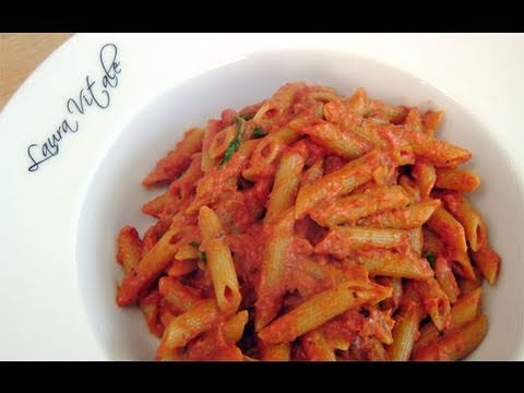 Penne Vodka Recipe - by Laura Vitale - Laura in the Kitchen Ep 101