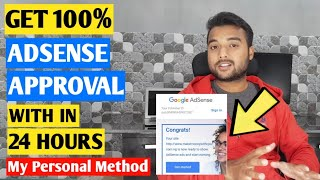 🔥FASTEST GOOGLE ADSENSE APPROVAL TIPS And TRICKS 2020 For Blogger/WordPress Website [Hindi]
